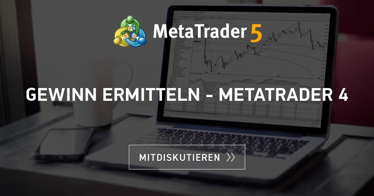 Metatrader 4 Deutsch