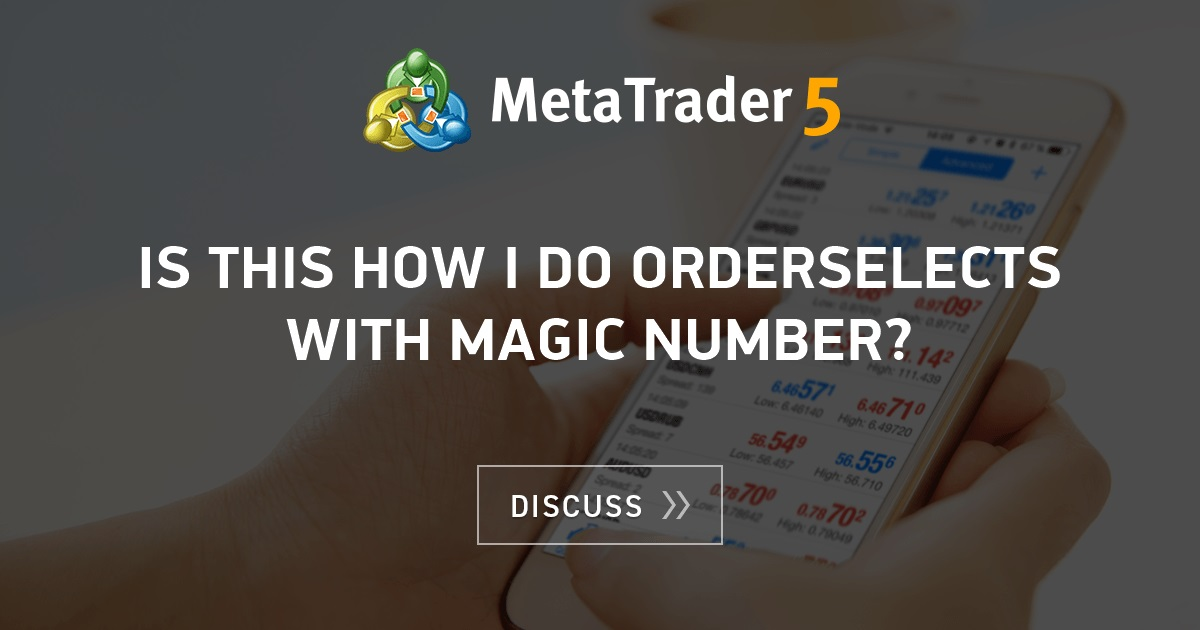 Magic number forex