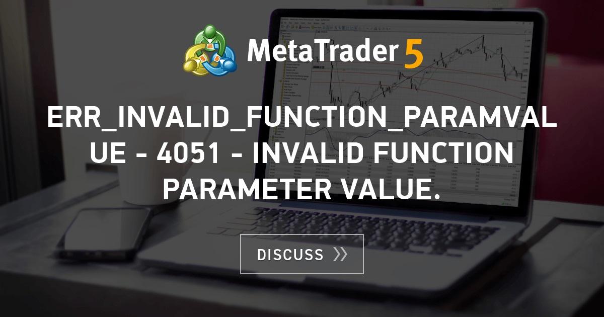 Error modify 4051 forex factory