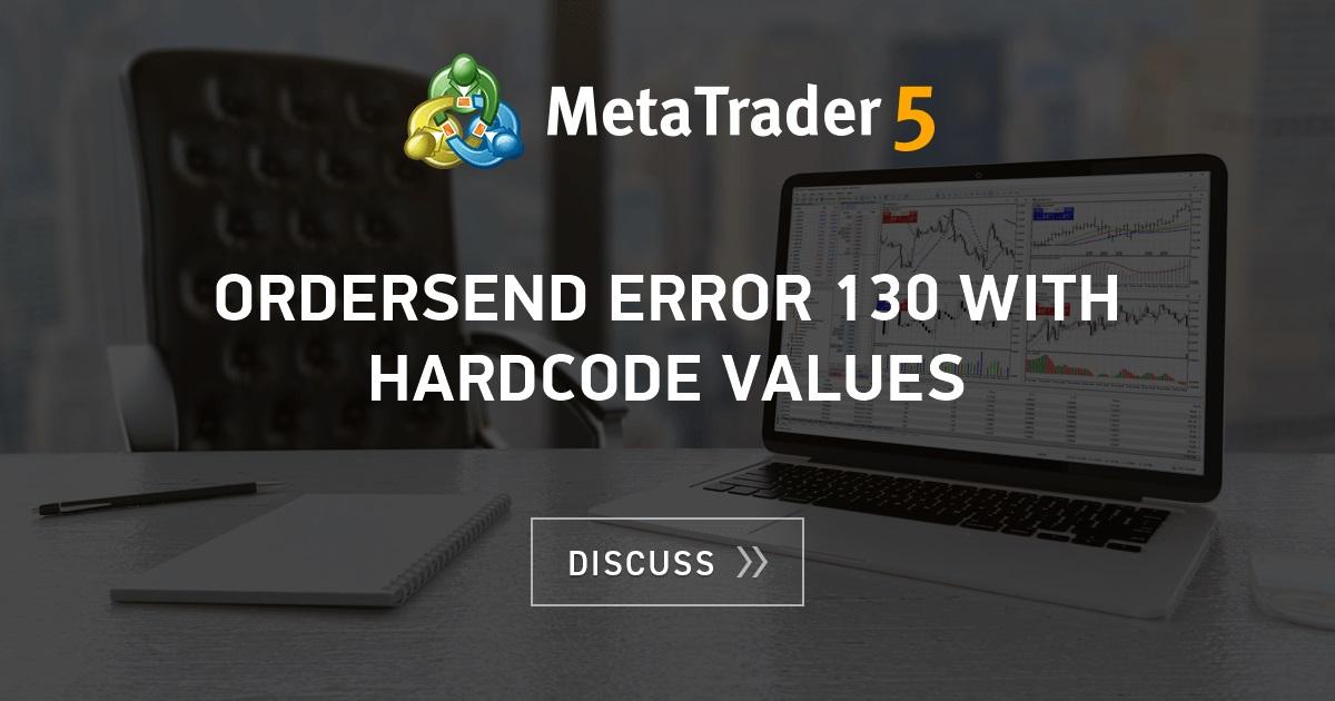 OrderSend Error (Requote)