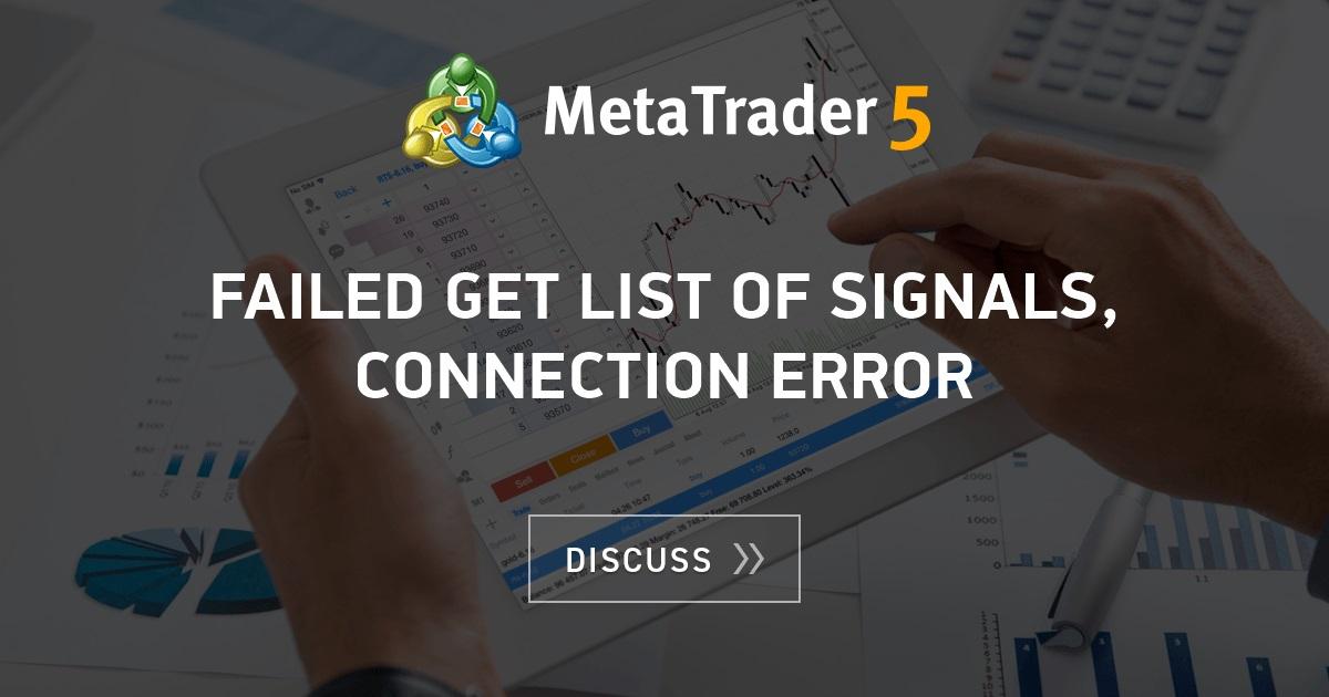 Metatrader 4 Authorization Failed