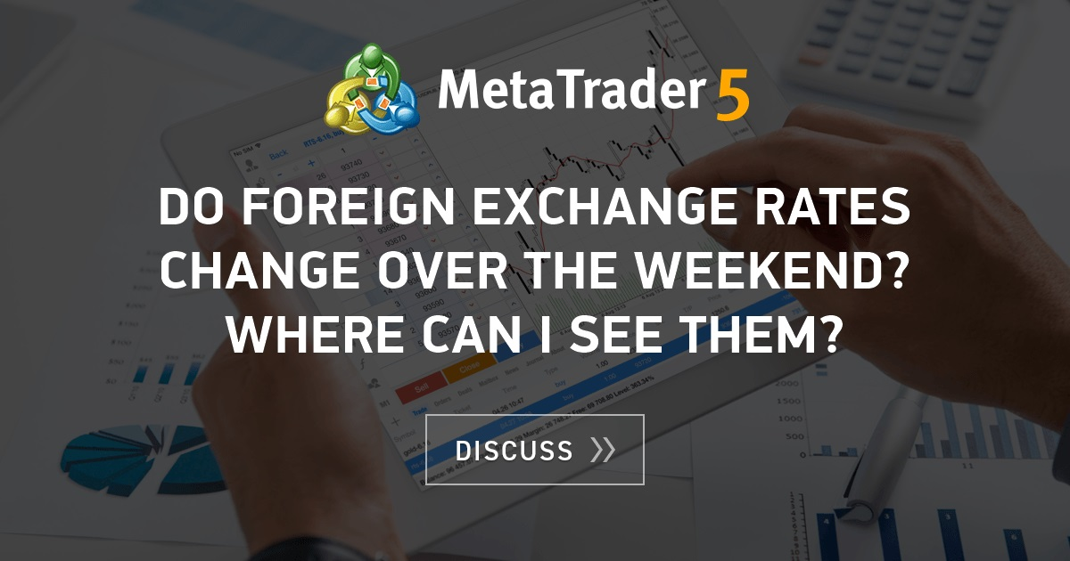 Weekend forex rates