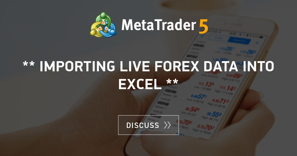 Live forex data