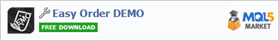 Buy Easy Order DEMO trading application in the store of automated robot systems