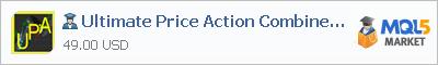 Expert Advisor Ultimate Price Action Combine MTF EA