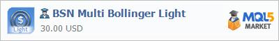 Expert Advisor BSN Multi Bollinger Light