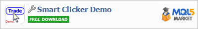 Buy Smart Clicker Demo trading application in the store of automated robot systems