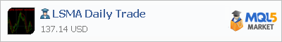 Buy LSMA Daily Trade Expert Advisor in the store selling algo trading systems