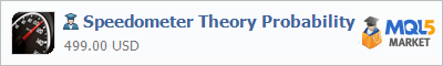 Buy Speedometer Theory Probability Expert Advisor in the store selling algo trading systems