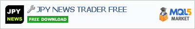 Buy JPY NEWS TRADER FREE trading application in the store of automated robot systems