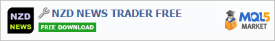 Buy NZD NEWS TRADER FREE trading application in the store of automated robot systems