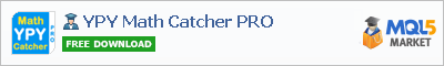 Buy YPY Math Catcher PRO Expert Advisor in the store selling algo trading systems