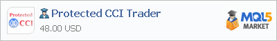 Expert Advisor Protected CCI Trader