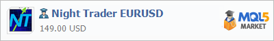 Buy Night Trader EURUSD Expert Advisor in the store selling algo trading systems
