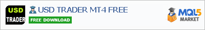 Buy USD TRADER MT4 FREE Expert Advisor in the store selling algo trading systems