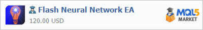 Expert Advisor Flash Neural Network EA