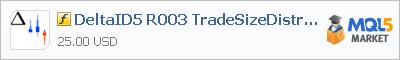 Indicator DeltaID5 R003 TradeSizeDistribution
