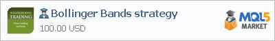 Expert Advisor Bollinger Bands strategy