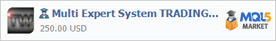 Buy Multi Expert System TRADING WAY Expert Advisor in the store selling algo trading systems