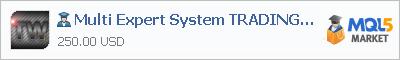 Expert Advisor Multi Expert System TRADING WAY
