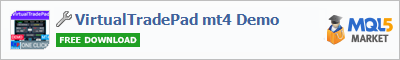 Panel VirtualTradePad mt4 Demo