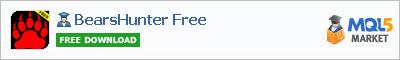 Buy BearsHunter Free Expert Advisor in the store selling algo trading systems