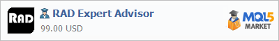 Buy RAD Expert Advisor Expert Advisor in the store selling algo trading systems