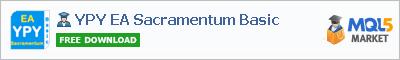Buy YPY EA Sacramentum Basic Expert Advisor in the store selling algo trading systems
