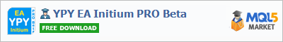 Buy YPY EA Initium PRO Beta Expert Advisor in the store selling algo trading systems
