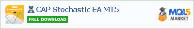 Buy CAP Stochastic EA MT5 Expert Advisor in the store selling algo trading systems