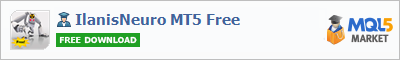 Buy IlanisNeuro MT5 Free Expert Advisor in the store selling algo trading systems