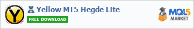 Buy Yellow MT5 Hegde Lite Expert Advisor in the store selling algo trading systems