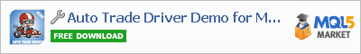 Buy Auto Trade Driver Demo for MT5 trading application in the store of automated robot systems