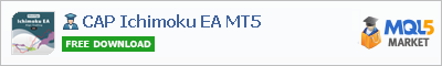 Buy CAP Ichimoku EA MT5 Expert Advisor in the store selling algo trading systems