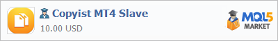 Expert Copyist MT4 Slave