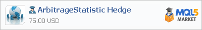 Expert Advisor ArbitrageStatistic Hedge