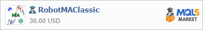 Expert Advisor RobotMAClassic