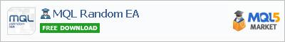 Expert Advisor MQL Random EA
