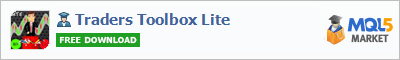 Buy Traders Toolbox Lite Expert Advisor in the store selling algo trading systems