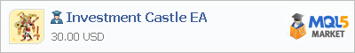 Buy Investment Castle EA Expert Advisor in the store selling algo trading systems