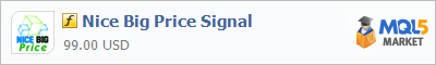 Buy Nice Big Price Signal customer indicator in the store selling algo trading systems