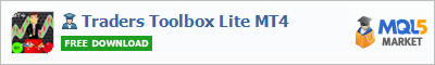 Buy Traders Toolbox Lite MT4 Expert Advisor in the store selling algo trading systems