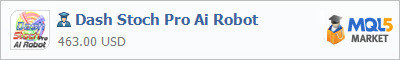 Buy Dash Stoch Pro Ai Robot Expert Advisor in the store selling algo trading systems