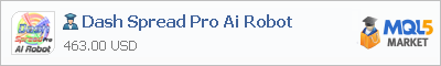 Buy Dash Spread Pro Ai Robot Expert Advisor in the store selling algo trading systems