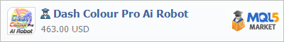 Buy Dash Colour Pro Ai Robot Expert Advisor in the store selling algo trading systems