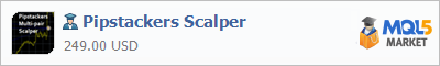 Buy Pipstackers Scalper Expert Advisor in the store selling algo trading systems