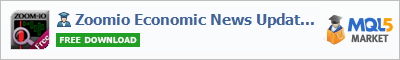 Expert Advisor Zoomio Economic News Updater Basic