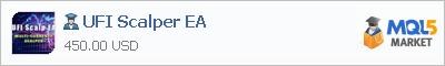 Expert Advisor UFI Scalper EA