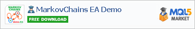 Expert Advisor MarkovChains EA Demo