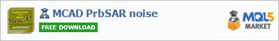 Expert Advisor MCAD PrbSAR noise